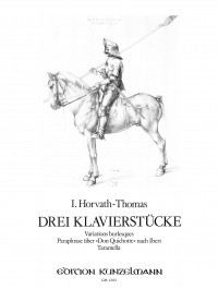 Horvath-Thomas, Istvan: 3 Klavierstücke