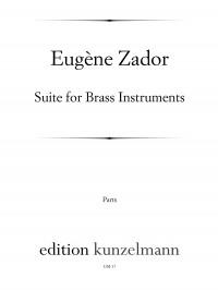 Zador, Eugène: Suite für Blechbläser