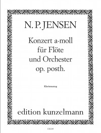 Jensen, Niels Peter: Flötenkonzert a, KA