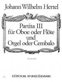 Hertel, Johann Wilhelm: Partita III