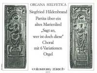 Hildenbrand, Siegfried: Choral mit 6 Variationen