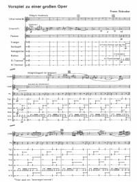 Schreker, Franz: Memnon, Prelude to a Grand Opera for orchestra