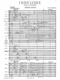 Schreker, Franz: Irrelohe (with German libretto)