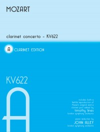 Mozart Clarinet Concerto Kv622 For Clarinet In A