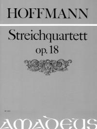 Hoffmann, L: Quartet D major op. 18