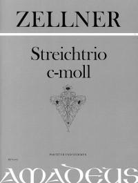 Zellner, J: String Trio C minor op. 36