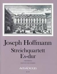 Hoffmann, J: String Quartet in E flat