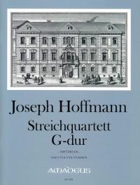 Hoffmann, J: String Quartet in G