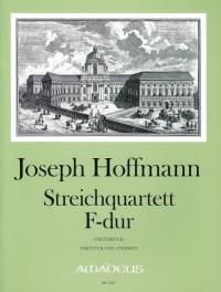 Hoffmann, J: String Quartet in F
