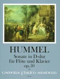 Hummel, J N: Sonata op. 50