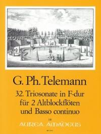 Telemann: 32nd Trio sonata F major TWV 42:F7