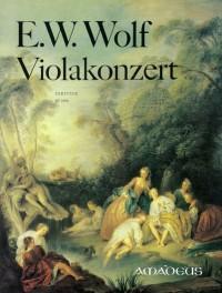Wolf, E W: Viola Concerto F major