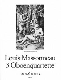 Massonneau, L: 3 Quartets
