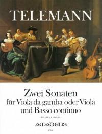 Telemann: 2 Sonatas E minor/A minor TWV 41:e5 + 41:a6