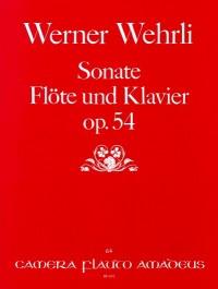 Wehrli, W: Sonate op. 54