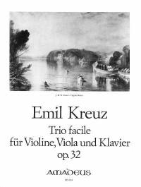 Kreuz, E: Trio facile op. 32