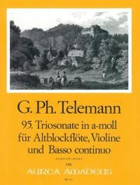 Telemann: 95. Trio Sonata A Minor Twv 42:a4