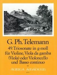 Telemann: 49th Trio sonata G minor TWV 42:g1
