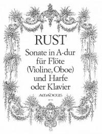 Rust, F W: Sonate A major