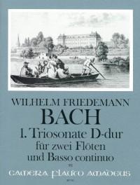 Bach, W F: Triosonate No. 1 D major