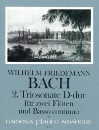 Bach, W F: Triosonate No. 2 D major