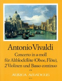 Vivaldi, A: Concerto in A minor RV 108