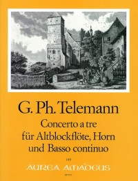 Telemann: Concerto a tre F major TWV 42:F14