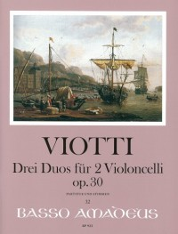 Viotti, G B: 3 Duos op. 30