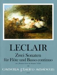 Leclair, J: Two Sonatas