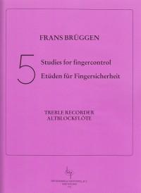 Bruggen: Five Studies For Finger Control
