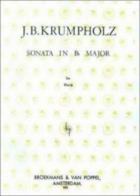 Krumpholz: Sonata in B flat major for harp