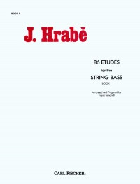 86 Etudes for The String Bass Book 1