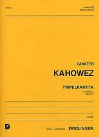 Kahowez, G: Tripelpartita op. 51