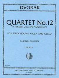 Dvorák, A: String Quartet No.12 F major Op.96