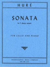 Huré, J: Sonata F sharp minor