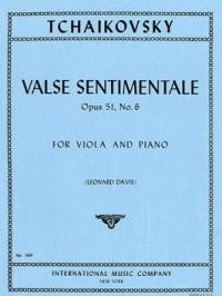 Tchaikovsky: Valse Sentimentale Op 51 No. 6