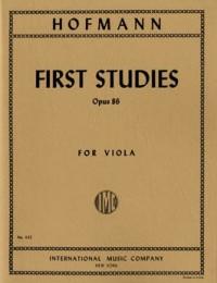 Hofmann, R: First Studies (in the 1st Position) op.86