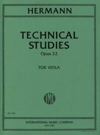 Hermann, F: Technical Studies op.22