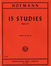 Hofmann, R: 15 Studies op.87