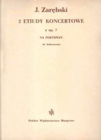 Zarebsky: Two Concert Studies Op7 Pft