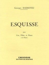 Georges Barboteu: Esquisse (Trio - Mixed)