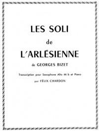 Georges Bizet: Les Soli De L'Arlesienne (Alto Saxophone/Piano)