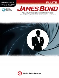 James Bond Play-Along Book for Flute