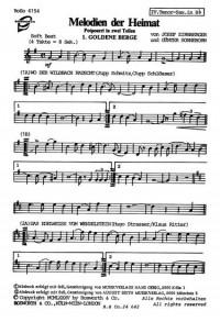 Zirnberger J._G. Sonneborn: Sonneborn Melodien Der Heimat 1 & 2 Tocm Bnd