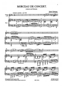 James Waterson: Morceau De Concert For Clarinet And Piano