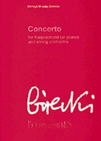 Gorecki: Concerto For Harpsichord (or Piano) And String Orchestra