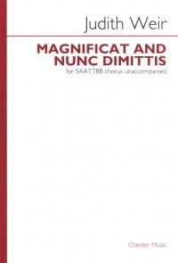 Judith Weir: Magnificat And Nunc Dimittis