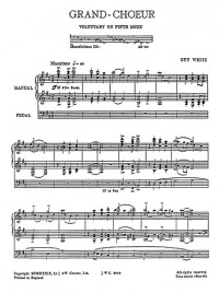 Guy Weitz: Grand Choeur For Organ