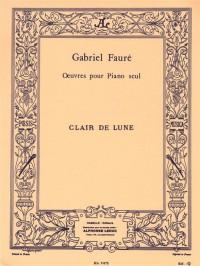 Gabriel Fauré: Clair De Lune Op.46 No.2