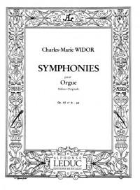 Charles-Marie Widor: Symphonie For Organ No.6 Op.42 No.2
